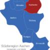 Map Städteregion Aachen Eschweiler