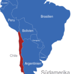 Map Südamerika Länder Chile