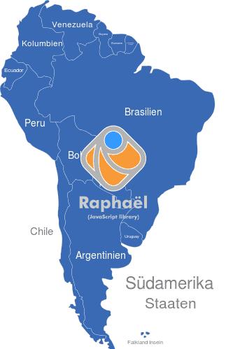 Mittelamerika Karte Staaten.Südamerika Länder