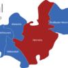 Map Suhl Ortsteile Heinrichs