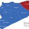 Map Syrien Regionen Al-Hasakah