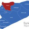Map Syrien Regionen Aleppo