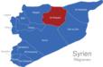 Map Syrien Regionen Ar-Raqqah