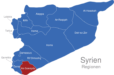 Map Syrien Regionen As-Suwayda