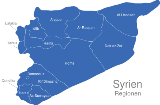 Syrien Regionen