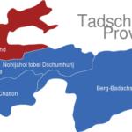 Map Tadschikistan Provinzen Sughd