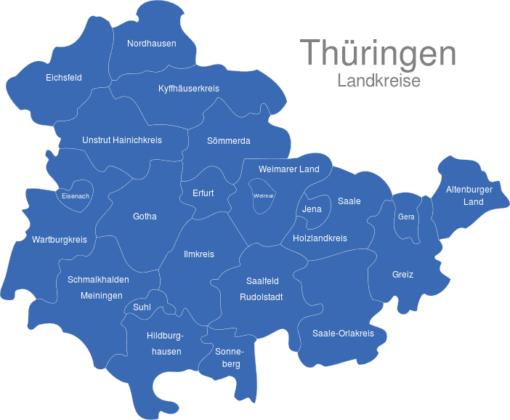 Thüringen Landkreise