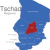 Map Tschad Regionen Batha