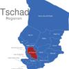 Map Tschad Regionen Chari-Baguirmi