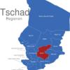 Map Tschad Regionen Guera
