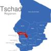 Map Tschad Regionen Hadjer-Lamis