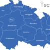 Map Tschechien Regionen Karlsbad