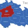 Map Tschechien Regionen Mittelbohmen_1_