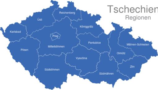 Tschechien Regionen
