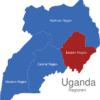 Map Uganda Regionen Eastern_Region