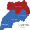 Map Uganda Regionen Northern_Region