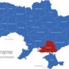 Map Ukraine Bezirke Oblaste Cherson