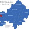 Map Unterfranken Landkreise Aschaffenburg_Stadt_1_