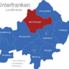 Map Unterfranken Landkreise Bad_Kissingen