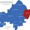 Map Unterfranken Landkreise Hassberge_1_