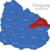 Map Uruguay Departments Cerro_Largo