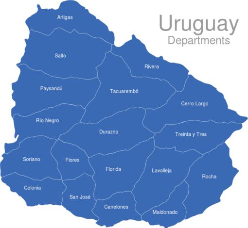 Uruguay Departments