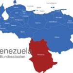 Map Venezuela Bundesstaaten Amazonas