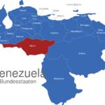 Map Venezuela Bundesstaaten Apure
