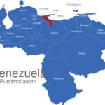Map Venezuela Bundesstaaten Aragua