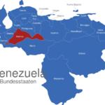 Map Venezuela Bundesstaaten Barinas