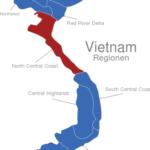 Map Vietnam Regionen North_Central_Coast