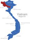 Map Vietnam Regionen Northwest