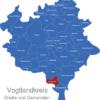 Map Vogtlandkreis Bad_Elster