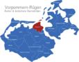Map Vorpommern Rügen Altenpleen