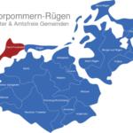 Map Vorpommern Rügen Dars_Fischland