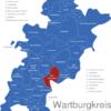 Map Wartburgkreis Bad_Salzungen