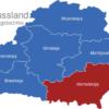 Map Weissrussland Verwaltungsbezirke Homelskaja