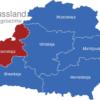 Map Weissrussland Verwaltungsbezirke Hrodsenskaja