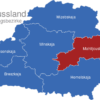 Map Weissrussland Verwaltungsbezirke Mahiljouskaja