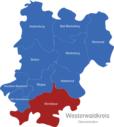 Map Westerwaldkreis Gemeinden Montabaur