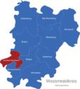 Map Westerwaldkreis Gemeinden Ransbach-Baumbach
