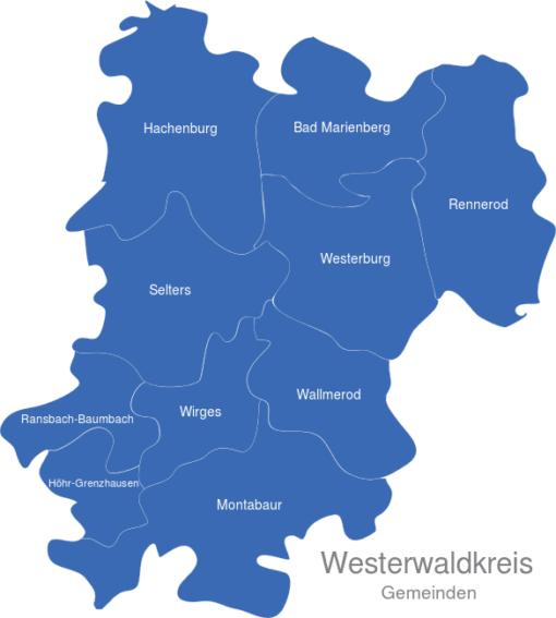 Westerwaldkreis Gemeinden