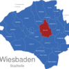 Map Wiesbaden Stadtteile Bierstadt