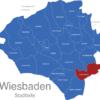 Map Wiesbaden Stadtteile Delkenheim