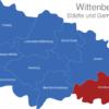 Map Wittenberg Annaburg