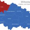 Map Wittenberg Coswig