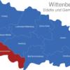 Map Wittenberg Gräfenhainichen