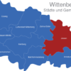 Map Wittenberg Jessen
