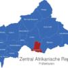 Map Zentral Afrikanische Republik Präfekturen Basse-Kotto
