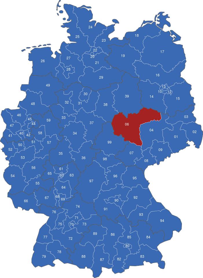 Deutschland Postcode